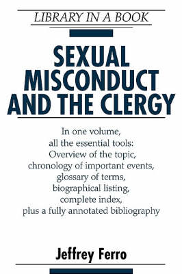 Sexual Misconduct and the Clergy - Library in a Book (Hardback)