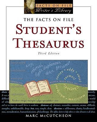 The Facts on File Student's Thesaurus (Paperback)