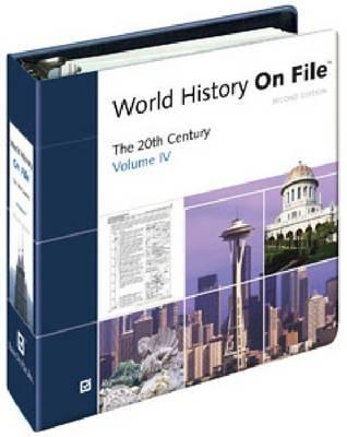 World History on File: 20th Century v. 4