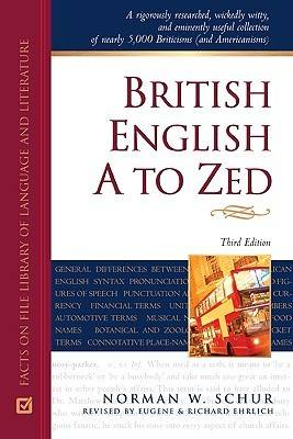 British English A to Zed (Hardback)
