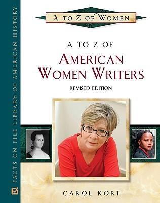 A to Z of American Women Writers - A to Z of Women (Hardback)
