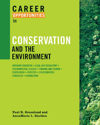 Career Opportunities in Conservation and the Environment (Paperback)
