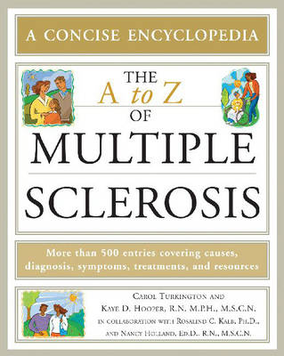 The A to Z of Multiple Sclerosis (Paperback)