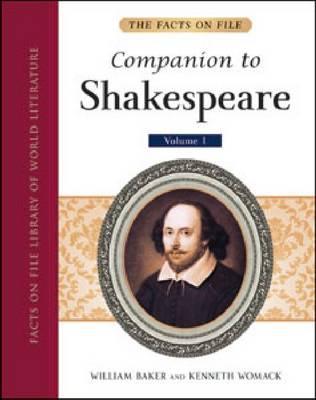 The Facts On File Companion to Shakespeare (5-Volume set) (Hardback)