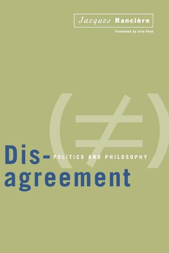 Disagreement: Politics and Philosophy (Paperback)
