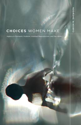 Choices Women Make: Agency in Domestic Violence, Assisted Reproduction, and Sex Work (Paperback)