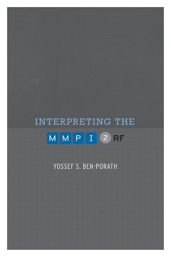 Interpreting the MMPI-2-RF (Hardback)