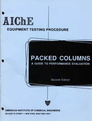 Packed Distillation Columns (Paperback)