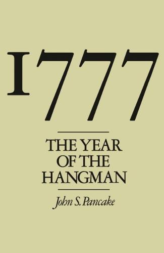 1777: The Year of the Hangman (Paperback)