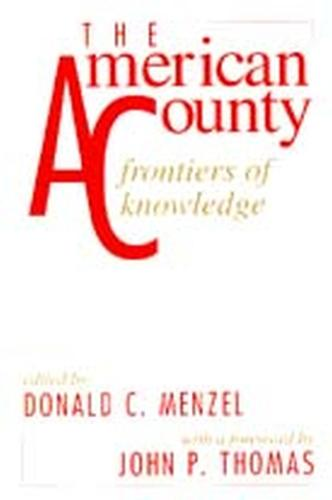 The American County: Frontiers of Knowledge (Paperback)