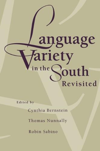 Language Variety in the South Revisited (Hardback)