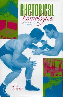 Rhetorical Homologies: Form, Culture, Experience (Hardback)