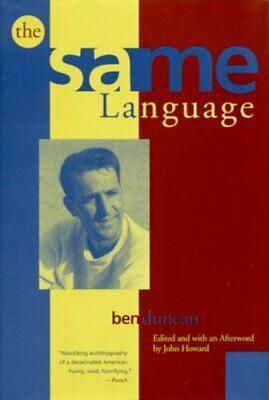 The Same Language (Hardback)