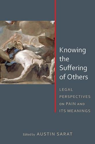 Knowing the Suffering of Others: Legal Perspectives on Pain and Its Meanings (Paperback)