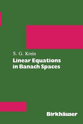 Linear Equations in Banach Spaces (Paperback)