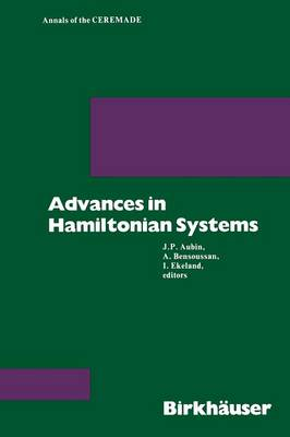 Advances in Hamiltonian Systems - Annals of CEREMADE 2 (Paperback)