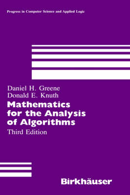 Mathematics for the Analysis of Algorithms - Progress in Theoretical Computer Science v. 1 (Hardback)
