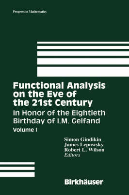 Functional Analysis on the Eve of the 21st Century: Functional Analysis on the Eve of the 21st Century Volume 1 - Progress in Mathematics 131/132 (Hardback)