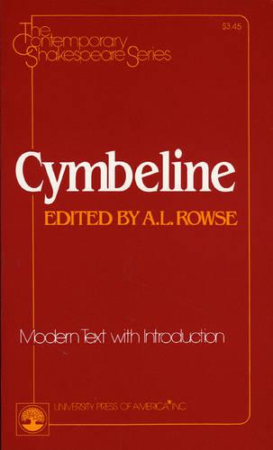 Cymbeline - The Contemporary Shakespeare Series 33 (Paperback)