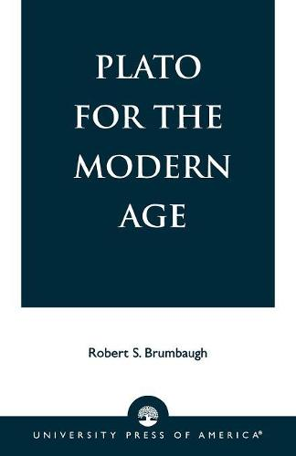 Plato for the Modern Age (Paperback)