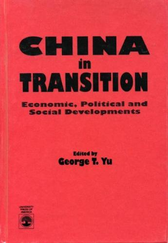 China in Transition: Political and Social Developments (Paperback)