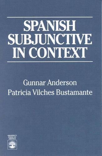 Spanish Subjunctive in Context (Paperback)