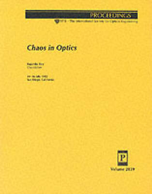 Chaos In Optics (Paperback)