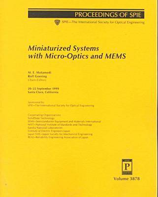 Miniaturized Systems With Micro-Optics and Mems- (Paperback)