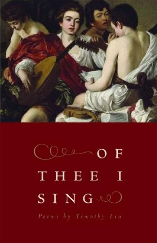 Of Thee I Sing - Contemporary Poetry Series (Paperback)