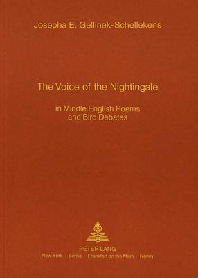 The Voice of the Nightingale: In Middle English Poems and Bird Debates (Paperback)