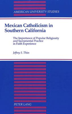 Mexican Catholicism in Southern California: The Importance of Popular Religiosity and Sacramental Practice in Faith Experience - American University Studies, Series 7: Theology & Religion 139 (Hardback)