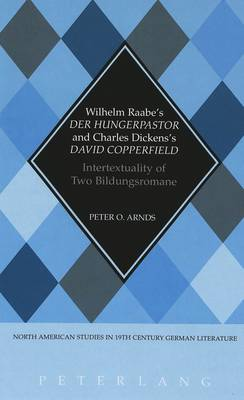 Wilhelm Raabe's Der Hungerpastor and Charles Dickens's David Copperfield: Intertextuality of Two Bildungsromane - North American Studies in Nineteenth-century German Literature and Culture 20 (Hardback)