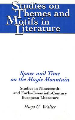 Space and Time on the Magic Mountain: Studies in Nineteenth- and Early-Twentieth-Century European Literature - Studies on Themes and Motifs in Literature 41 (Hardback)