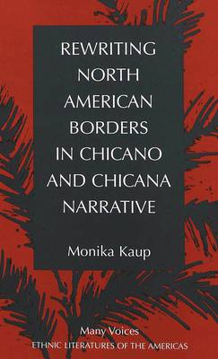 Rewriting North American Borders in Chicano and Chicana Narrative - Many Voices Ethnic Literatures of the Americas 5 (Hardback)