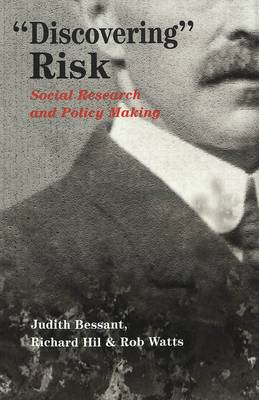 Discovering Risk: Social Research and Policy Making - Eruptions: New Feminism Across the Disciplines 18 (Paperback)