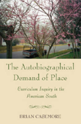 Autobiographical Demand of Place: Curriculum Inquiry in the American South - Complicated Conversation 21 (Paperback)