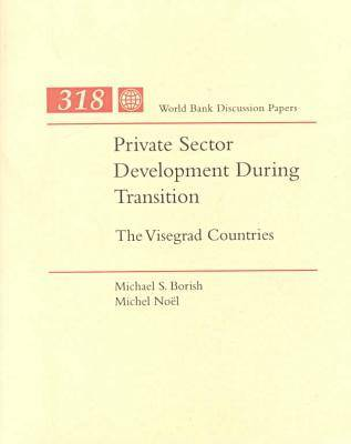 Private Sector Development during Transition: The Visegrad Countries - World Bank Discussion Paper 318 (Paperback)
