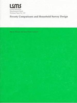 Poverty Comparisons and Household Survey Design (Paperback)