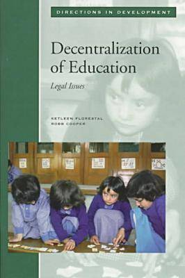 Decentralization of Education Legal Issues (Paperback)