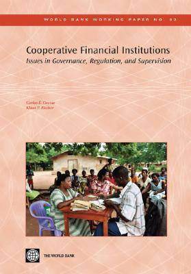 Cooperative Financial Institutions: Issues in Governance, Regulation, and Supervision (Paperback)