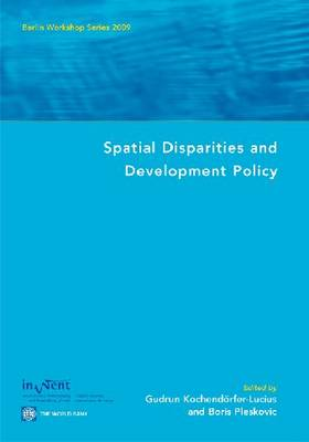 Spatial Disparities and Development Policy: Berlin Workshop Series 2009 (Paperback)
