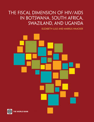 The Fiscal Dimensions of HIV/AIDS in Botswana, South Africa, Swaziland, and Uganda (Paperback)
