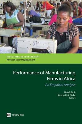 Quantitative Analyses of the Performance of Manufacturing Firms in Africa (Paperback)