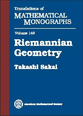 Riemannian Geometry - Translations of Mathematical Monographs (Paperback)