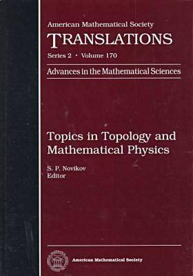 Topics in Topology and Mathematical Physics - American Mathematical Society Translations: Series 2 (Hardback)