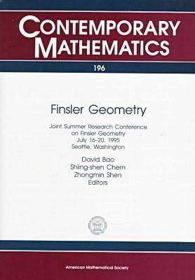 Finsler Geometry - Contemporary Mathematics (Paperback)