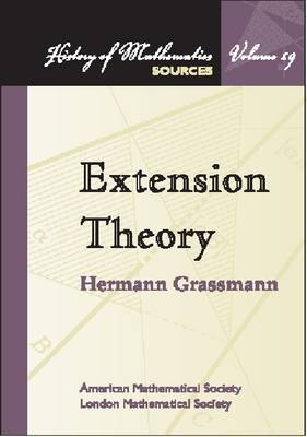 Extension Theory - History of Mathematics (Paperback)
