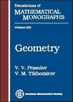 Geometry - Translations of Mathematical Monographs Reprint No. 200 (Hardback)