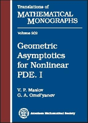 Geometric Asymptotics for Nonlinear PDE - Translations of Mathematical Monographs (Hardback)