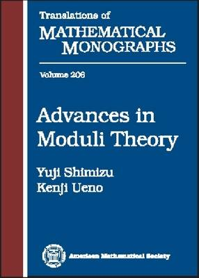 Advances in Moduli Theory - Translations of Mathematical Monographs (Paperback)